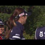 女子ゴルフ キム・ハヌル ホールインワンスマイル!アクサ2016